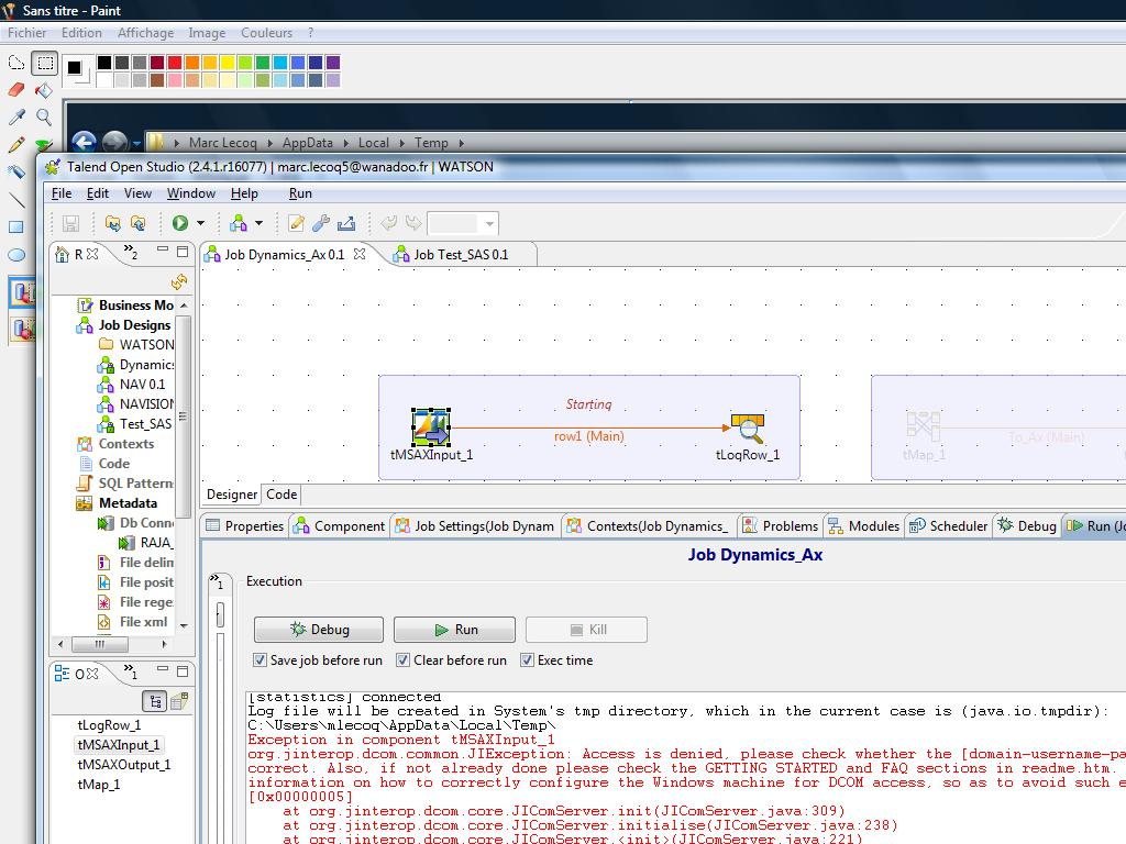 tMSAX component for Dynamics AX (Page 1) / Open Data