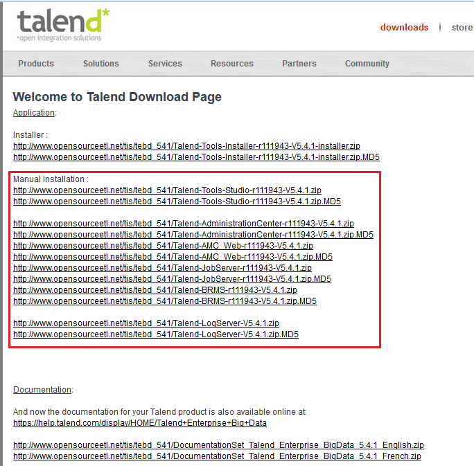 Talend 5 6 - Unable to create/edit Salesforce metadata (Page