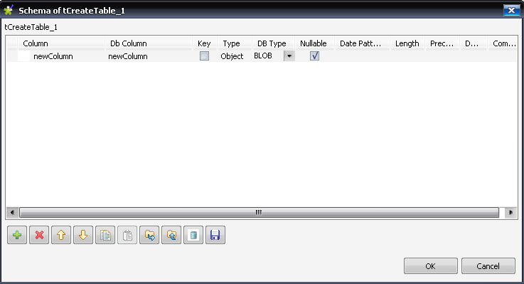 oracle table definition with blob data type (Page 1) / Open Data