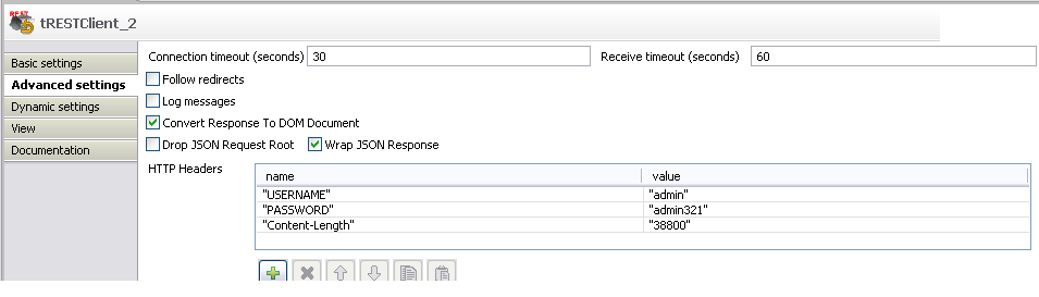 resolved] 411 Length Required Exception in tRestClient Component