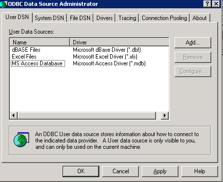 Error with Access in Talend (Page 1) / Open Data Integration