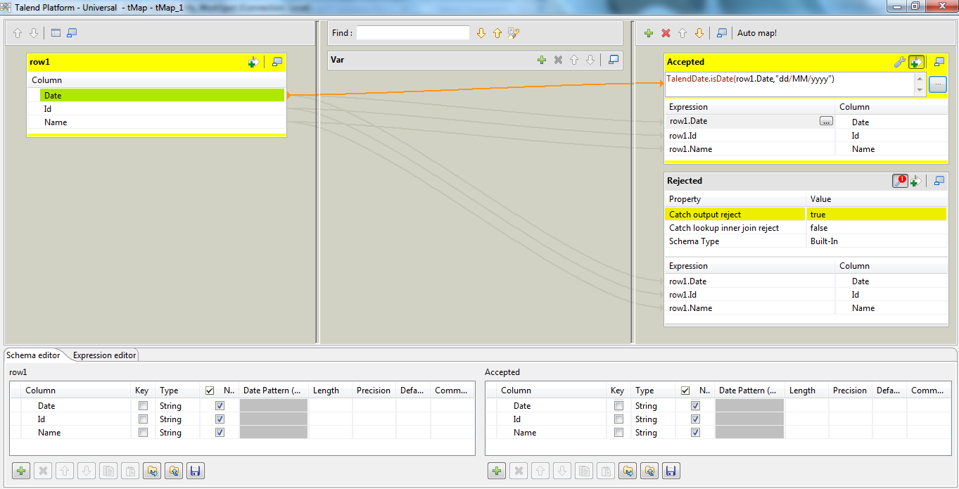 String to Date conversion in Talend (Page 1) / Open Data
