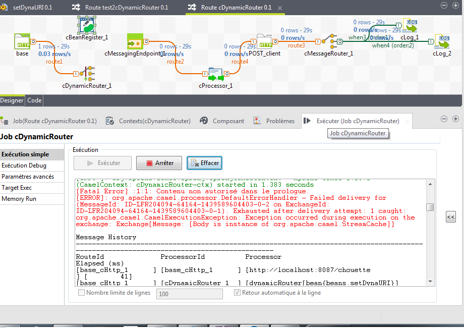 cDynamicRouter and different endpoints (Page 2) / ESB - Product