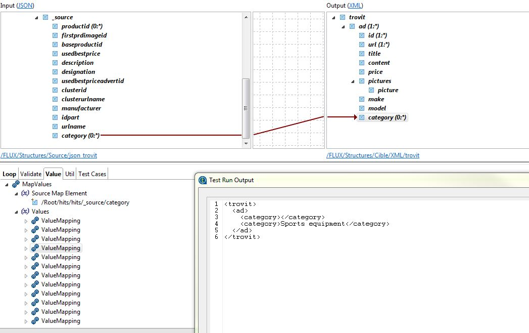 Data Mapper - Map - Hide empty element in xml document (Page 1