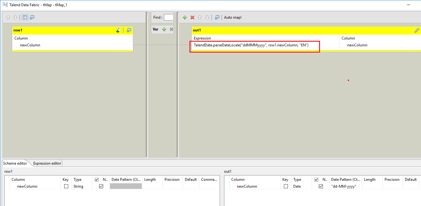 resolved] Talend String to Date conversion (Page 1) / Open