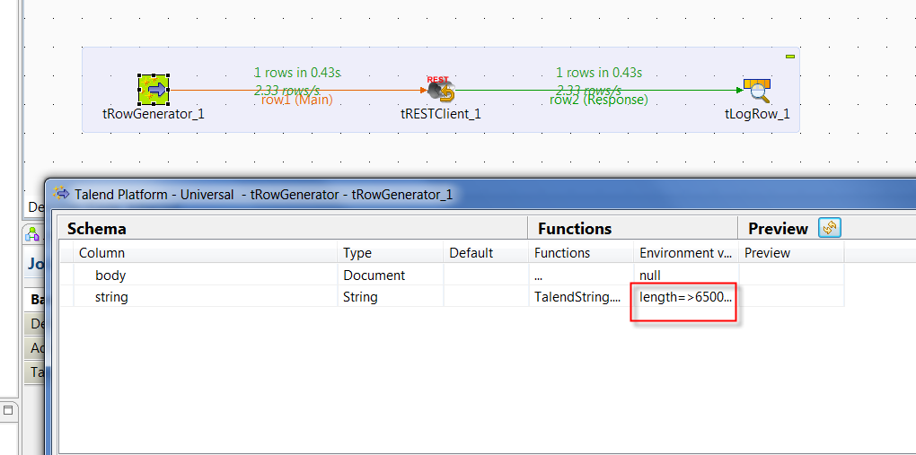 Limitation in JSON length when using POST in tRestClient