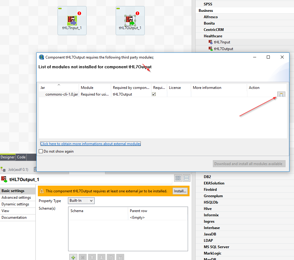 Talend Studio and HL7 limitations (Page 1) / Open Data